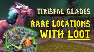 WoW Classic - Rare Mob Locations + UNIQUE LOOT - Tirisfal Glades