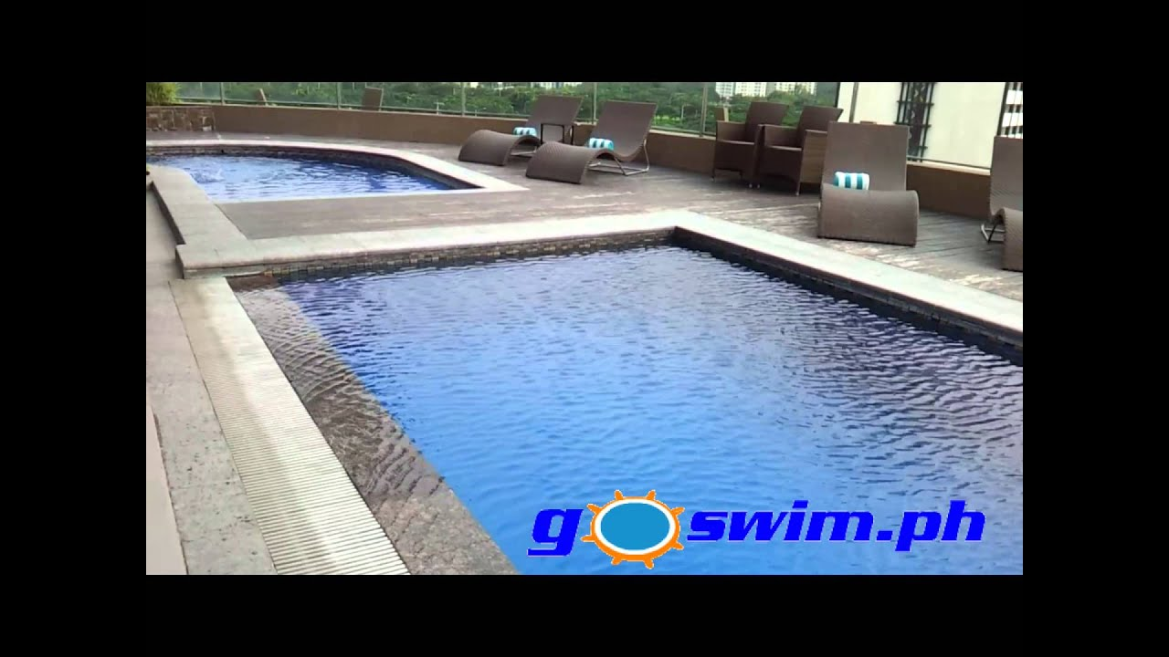Hotel Swimming Pools At Acacia Hotel Alabang Muntinlupa Youtube