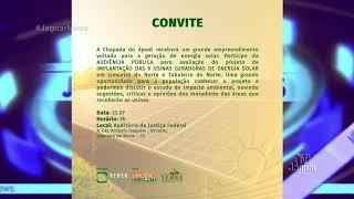 Audiência pública discutirá Projeto de construção do Parque Solar que será instalado na Chapada do A