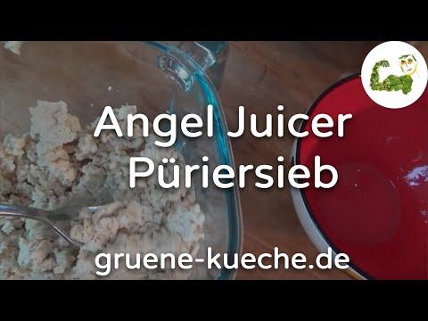Püriersieb - Angel Juicer Siebe ausprobiert (Teil 4/6)