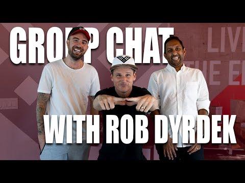 GROUP CHAT WITH ROB DYRDEK I DRAMA