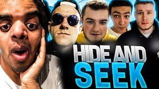 KOLEJNY HIDE AND SEEK! :O