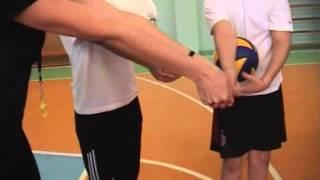 Жельветр  видео урок волейбол