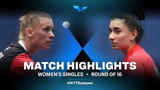 Mercedes Nagyvaradi vs Elizabet Abraamian | WTT Contender Budapest 2021 (R16)