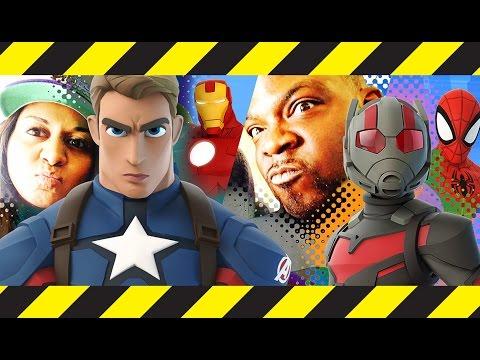 Disney Infinity 3.0 // Marvel Battlegrounds // Let's Play with La Familia