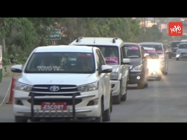 CM KCR Flexes With TRS Government Schemes | Telangana Plenary 2018 Meeting | Hyderabad | YOYO TV