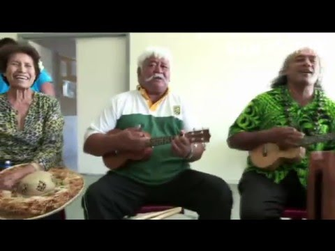 Rutu Drum Masters of the Cook Islands