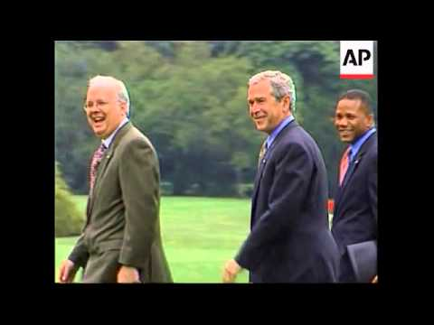 FILE Top Bush strategist Rove leaving White House at end of August