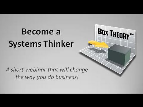 Business Systems 101 - Become a Systems Thinker