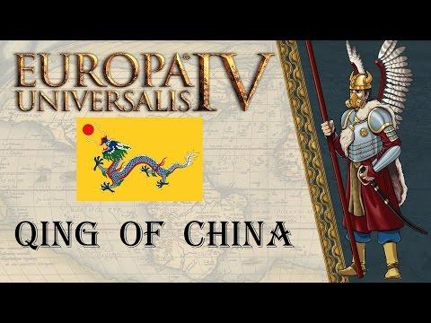 EU4 Mandate of Heaven Qing of China achievement run 1