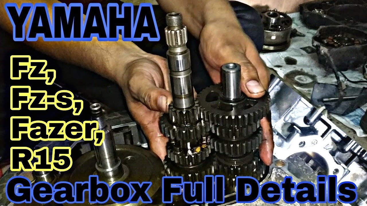 yamaha fz s gearbox full details gajanan auto service and parts [ 1280 x 720 Pixel ]