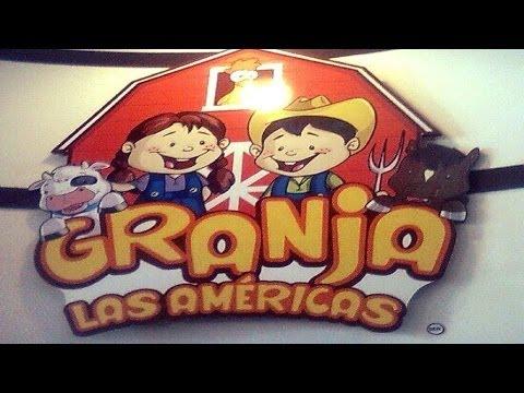 Vamos a La Granja Las Américas - Vlog # 1