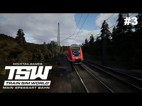 Zurück nach Aschaffenburg! | Train Sim World 2020 #3 - Main Spessart Bahn || RedCraft98 |