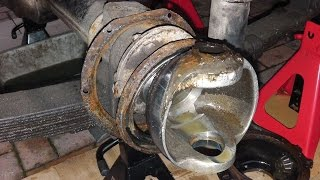 land rover series front axle overhaul part 1