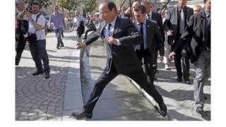 Hollande Le ridicule, au moins Pierre Richard a du talent...