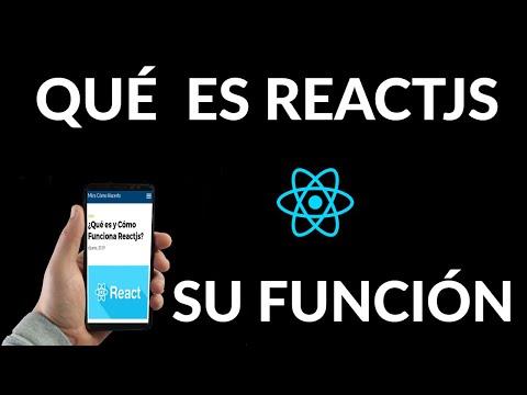 Qué es y Cómo Funciona Reactjs