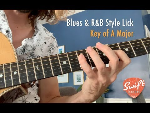 Blues & R&B Guitar Lick Lesson   How to Solo Over the Five Chord