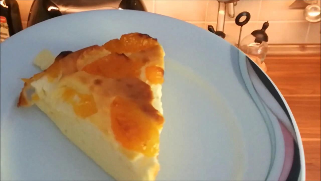 Mandarinen Quark Kuchen Aus Der Heissluftfriteuse Youtube