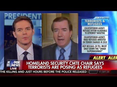 Chairman Royce on Fox News Discusses the Visa Waiver Program