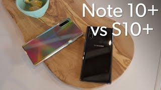 Should you buy a Galaxy Note 10+ or S10+?