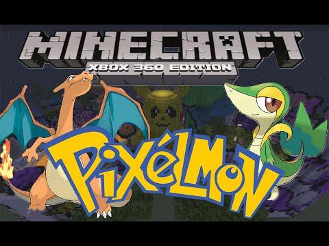 Xbox Minecraft PIXELMON!   w/ download  