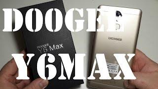 Doogee Y6 Max 3D 4G IPS 6,5'' inch 3gb/32gb octa-core честный обзор распаковка на русском