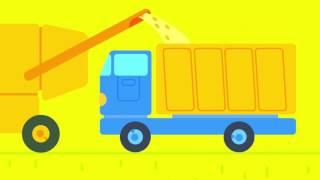 Das kluge Zwiebelchen. Folge 6. Die Farbe gelb.