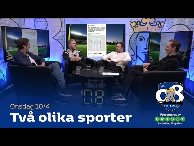 08 fotboll: Två olika sporter
