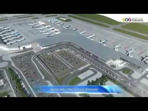 Nuevo aeropuerto internacional el dorado bogot sd youtube for Puerta 6 aeropuerto el dorado