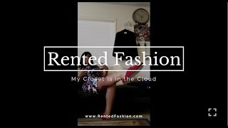 Rent The Runway and LeTote unboxing