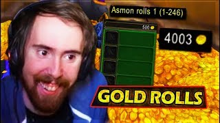 Asmongold Gets Rich GAMBLING GOLD In Classic WoW