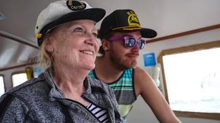 ⛵️Our first Sail on our new ship SYLFIA🚢 Expedition Drenched Season 0 Episode 1