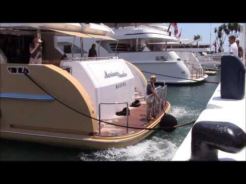 Superyacht MARINA WONDER Megayacht, 1st June 2014 Puerto Banus Harbour