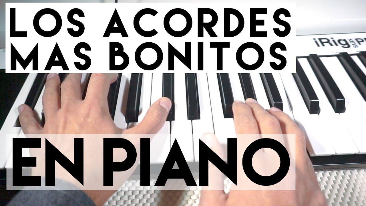 Los 10 Acordes Más Bonitos En Piano Y Teclados Youtube