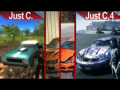 EVOLUTION OF JUST CAUSE | PC | ULTRA | 2019