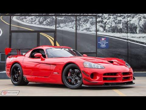 2010 Dodge Viper ACR-X Nurburgring Edition