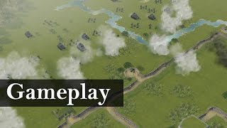 Battle Academy 2 Eastern Front Skirmish Gameplay w/ Commentary [1080p/HD]