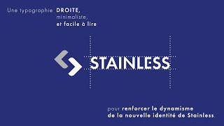 Le groupe Stainless dévoile son nouveau logo en motion design ! | Réalisée par Tête...