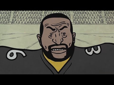 Jerome Bettis And The Thanksgiving Coin Toss | SC Cartoons | ESPN Stories