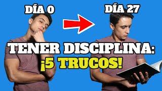 CÓMO SER DISCIPLINADO - Humberto Gutiérrez