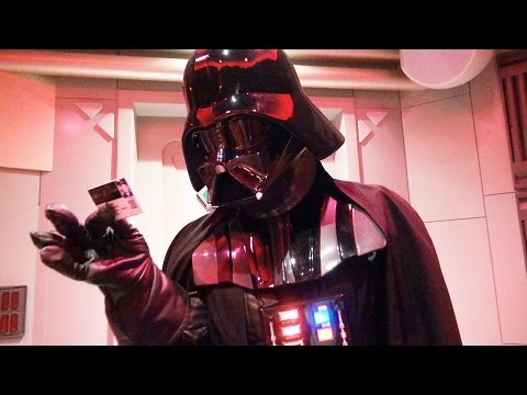 Darth Vader Interactive Meet & Greet at Disneyland Paris with Dark Side Infinity Pass, Discoveryland