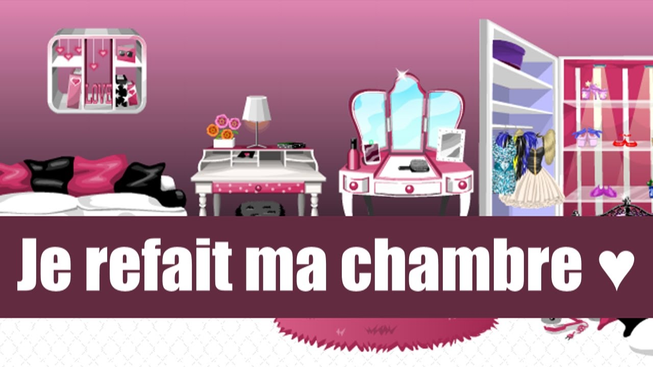 Je refait ma chambre youtube for Chambre youtubeur