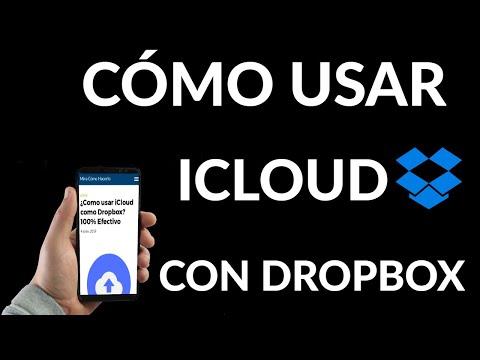 Como usar iCloud como Dropbox