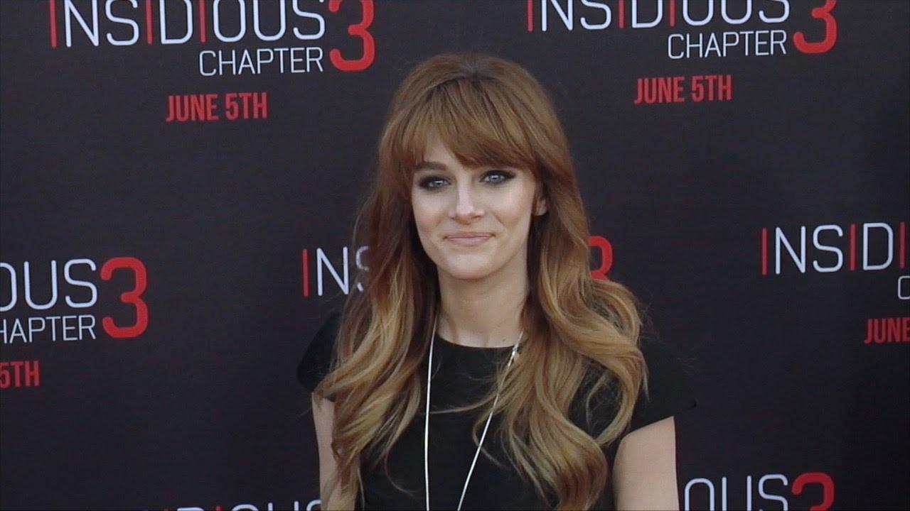 Aubrey Peeples Insidious Chapter 3 Los Angeles Premiere Red Carpet
