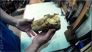 Woodturning - Punky Wood Pot