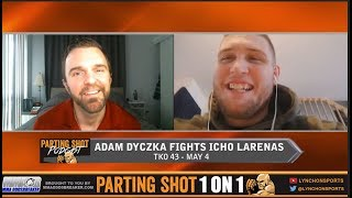 Undefeated Adam Dyczka talks TKO 43, Failed Drug Test for Marijuana & Contender Series Offer