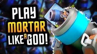 UNREAL MORTAR CYCLE PLAY at 6200+ Trophies :: TRY THIS F2P DECK!