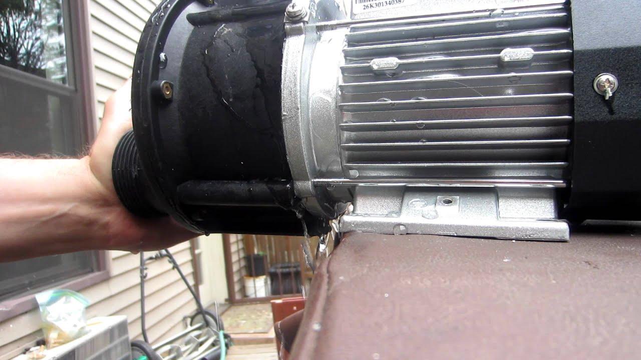 Leaking Pump JA50 Pump