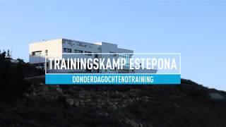 Training | Donderdagochtend: sponsoren vanaf elf meter