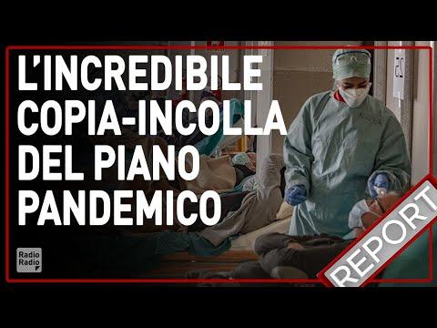 CORONAVIRUS, L'INCREDIBILE COPIA - INCOLLA DEL PIANO PANDEMICO ►  L'INCHIESTA DI REPORT
